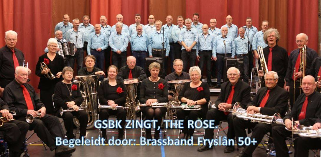 GSBK zingt The Rose